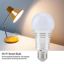 Smart E27 AC85-265V Wi-Fi LED Bulb 11W RGB+W LED Light Bulb Smartphone Controlled Wi-Fi Smart Lamp Bulbs стоимость