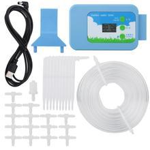 Домашний сад ЖК-контроллер для орошения комплект таймер воды Автоматическая система полива сада