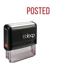 Bbloop разместил w/Tall Skinny style шрифт и дизайн Self-Ink