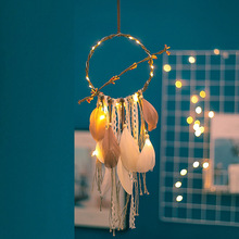 2019 new ins style dream catcher lamp feather wind bell automotive supplies hanging in the car birthday gifts