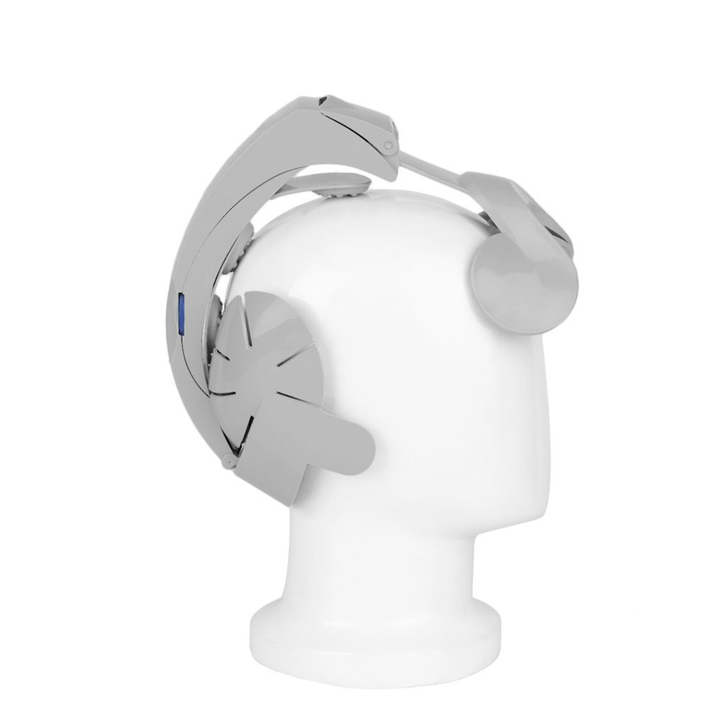 Head Vibration Massage Easy-brain Massager Electric Head Massage & Relax Brain Acupuncture Points Stress Release Machine humanized design electric head massager brain massage relax easy acupuncture points fashion gray health care home