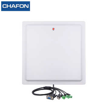 CHAFON 15M long range uhf rfid reader USB RS232 WG26 RELAY with built-in 12dbi linear antenna free SDK for car parking - DISCOUNT ITEM  25% OFF All Category