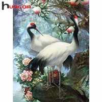 Huacan 5D Diamant Malerei Kreuz Stich Tier Diamant Stickerei Verkauf Blume Und Baum DIY Volle Runde Diamant Mosaik Hand