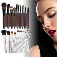 12 PCS/set Cosmetic Top Quality Hair Makeup Brushes Set Professional Facial Eye Lip Makeup Tools Beauty Tool Kit Hot