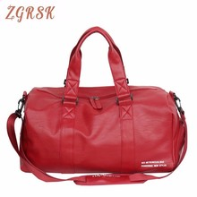 Luggage For Women Travelling Duffle Bag Organizer Pu Leather Travel Bags And Malas De Viagem Bag Sac Weekend Travelling Bags