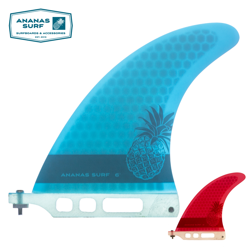 "Ananas Surf Surfboard Center Single Fin 6"" Longboard 6 Inch Us Base Sup Accessories"