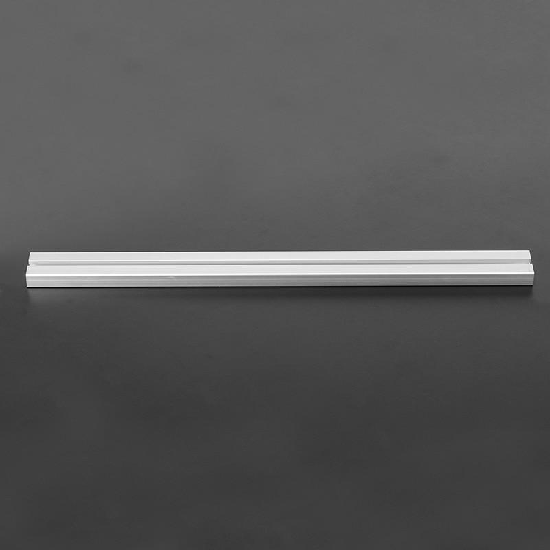 Sliver 500mm Length 1640 T Slot Aluminum Profiles Extrusion Frame For CNC Durable