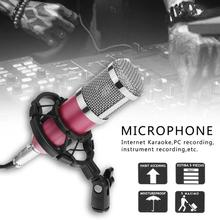 BM800 Dynamic Condenser Wired Microphone Sound Studio for Singing Recording