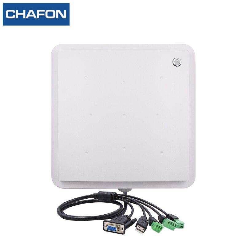 CHAFON 865 868Mhz 5 meter rfid uhf reader IP66 waterproof RS232 WG26 RELAY free SDK for