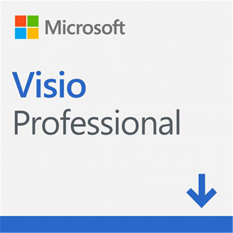 Image 4 - Microsoft Office Visio Professional 2019 For Windows Digital Delivery License 1 User-in Office Software from Computer & Office