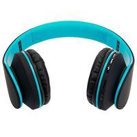 HY 811 Складная FM стерео MP3 плеер Проводная bluetooth гарнитура черного и синего цвета Портативное аудио и видео