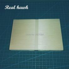 цена на 150x100x3mm EXCELLENT QUALITY Model Balsa wood sheets for RC airplane boat Military Models model DIY