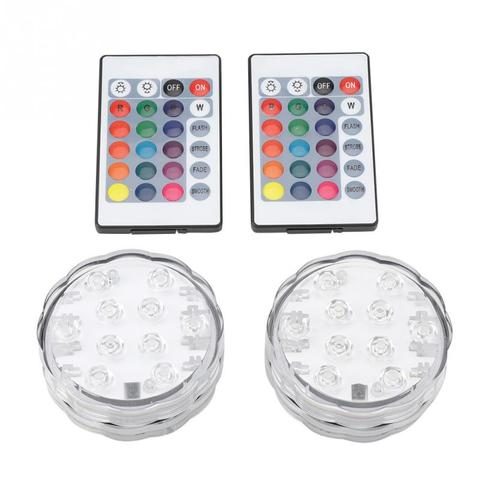2Set LED Multi-color RGB Pool Light Waterproof Underwater Light Swiming Pool Lamp With Remote Controller Islamabad