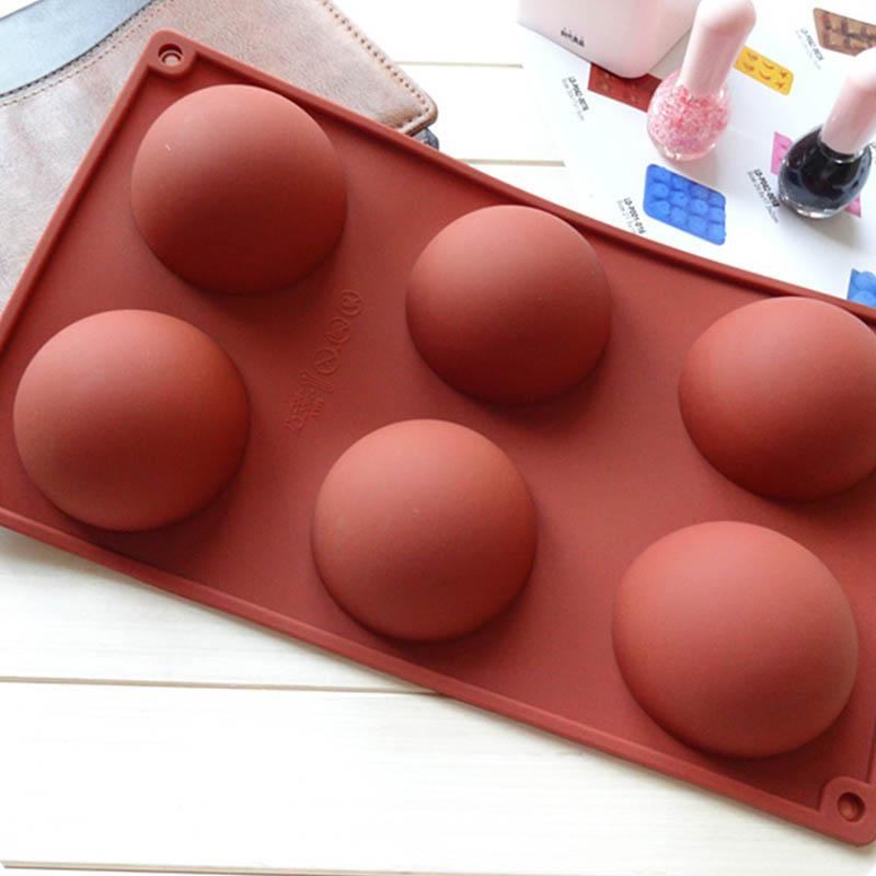 Image 5 - Hemisphere Shape Silicone 6/15/24 Holes Food Grade Baking Accessories Chocolate Candy Mold Bakeware Kitchen Gadgets-in Cake Molds from Home & Garden