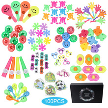Giveaways Prizes 100pcs Kids Puzzle Toy Party Supplies Small Bulk Toys Birthday Pinata Fillers Party Gift Classroom Treasure Box