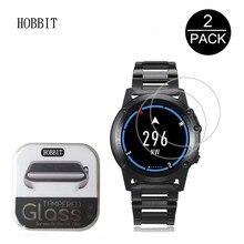 2 paketi 0.3mm 2.5D Temperli Cam Ekran Koruyucu Için Microwear H1 GPS akıllı saat Giyilebilir Cihazlar Ekran Guard koruyucu film