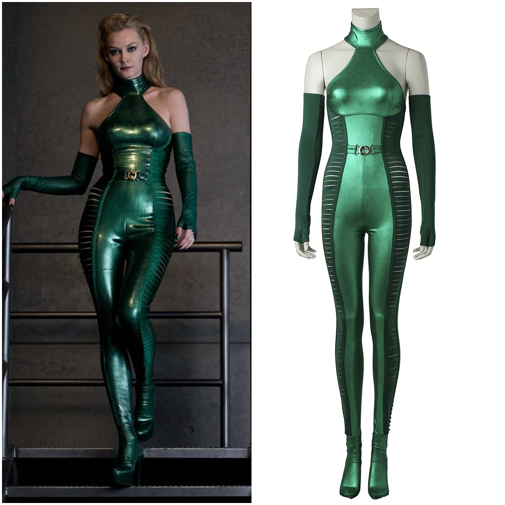 X-MEN Wolverine 2 Viper Cosplay Costume Halloween Sex Outfit
