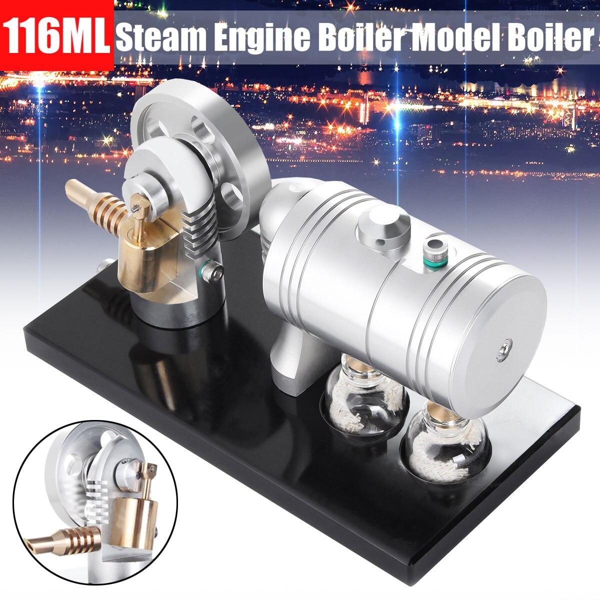 116 ML Air chaud Stirling métal modèle générateur moteur éducatif vapeur puissance éducation précoce jouets Science expérience prop