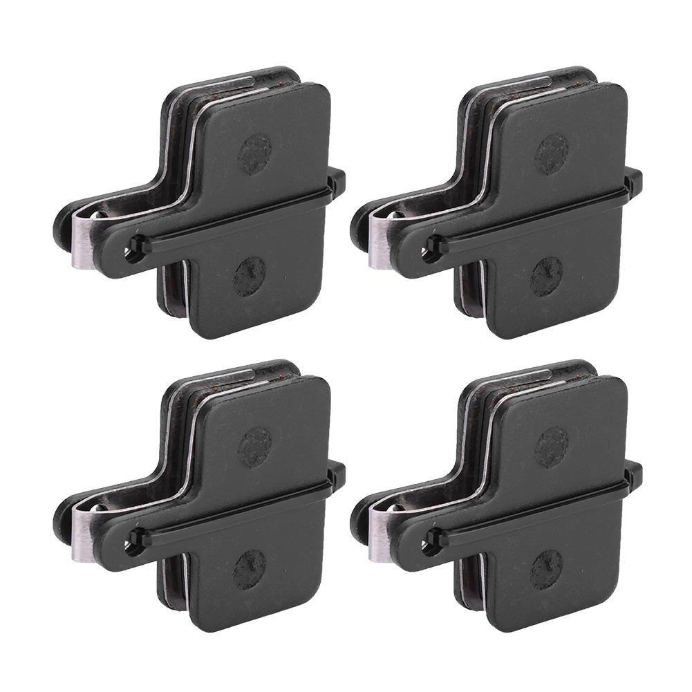 Disc Brakes Pads Sports Cycling Bicycle Parts 4 Pairs Replacement Black Model