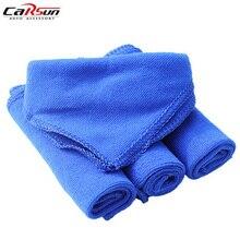 5Pcs/Lot 40*40CM Microfiber Car Wash Towel Dry Clean Polish Cloth Motorcycle Detailing Care Tool
