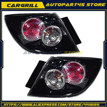Outer Brake Tail Light Taillight Left Right PAIR for 2007-09 Mazda 3 Hatchback MA2805106 MA2804106