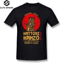 Hanzo T Shirt Hattori T-Shirt Funny Men Tee Graphic Short Sleeves 100 Percent Cotton Big Fashion Tshirt