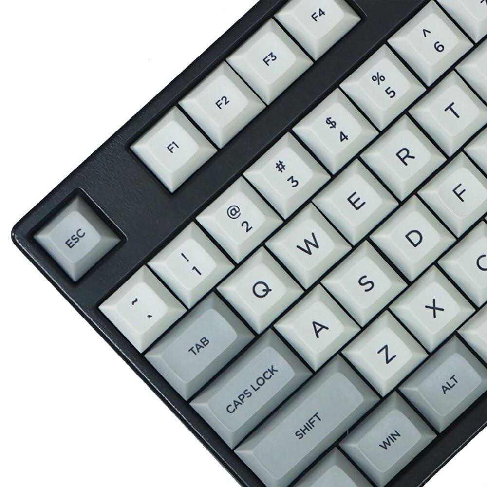 108 Key DSA Profile Dye sub PBT Keycaps Keycap Set for Mechanical Keyboard Keycap Only Gaming Mechanical Keyboad Keycap