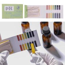Бытовая лакмусовая бумага полный диапазон 1-14 80 полосок PH Тест er для воды сада почвы Litmus бумага тест Горячий