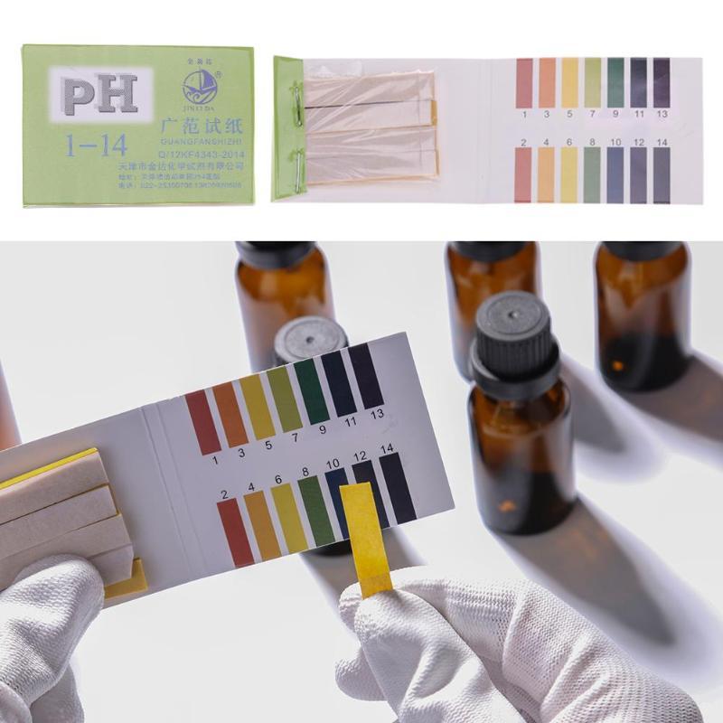 Household PH Test Paper Full Range 1-14 80 Strips PH Tester For Water Garden Soil Litmus Paper Test Hot