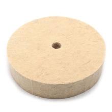 6 дюймов полировки шлифовальный колеса шерсть фетр Полировочный диск 25 мм Толщина шерстяные шлифовальные круги
