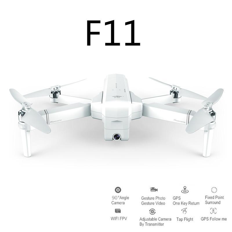 LeadingStar SJRC F11 GPS 5G Wifi FPV Avec 1080 P Caméra 25 minutes Temps de Vol Brushless Pliable Bras Selfie RC Drone Quadcopter