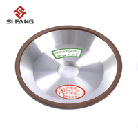 150mm Resin Diamond Grinding Wheel Disc 120/150 Grit For Milling Cutter Power Abrasive Tool