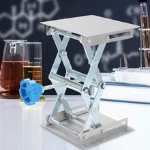 Mini Lifting Platform Scissor Lift Tabl Stainless Steel Lifting Platforms Stand Rack Scissor Lab Jack