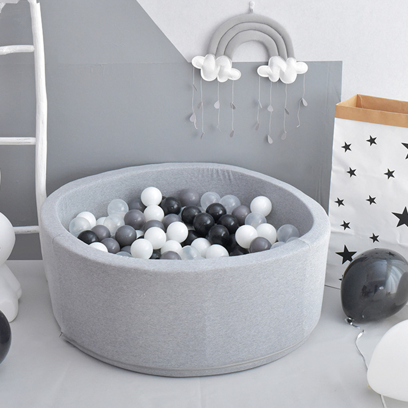 Image 2 - Baby Ocean Ball Pool Pit Fencing Manege Round Play Pool for Baby Play Ball Playground For Toddlers yard games Childrens TentBall Pits   -