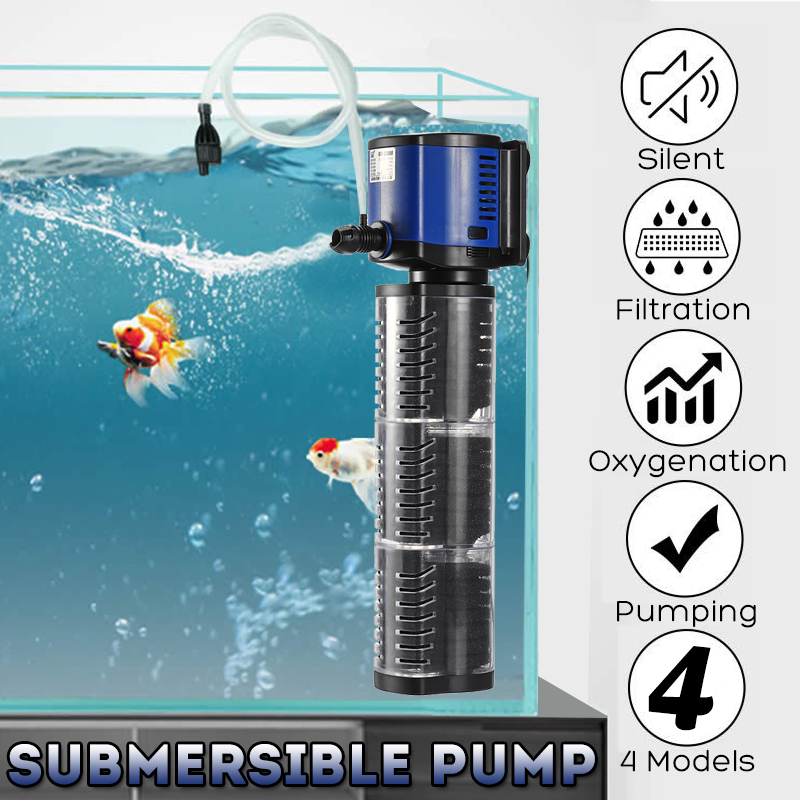 "HIGH FLOW 3/"" SUBMERSIBLE DEEP WELL WATWR PUMP FARM IRRIGATION 360FT 3000L//H"