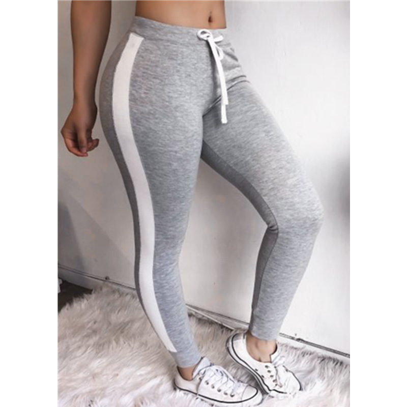 Active Women Sport Gym Pants Pink High Waist Solid Athletic Plus Size Fitness Jogging Seamless Exercise Leggings Mujer Yoga in Yoga Pants from Sports Entertainment