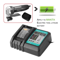 110V 240V Li Ion Battery Charger 3A Charging CurrentReplacement For Makita 14.4 18V DC18RC BL1860 BL1845 1815 Power tool