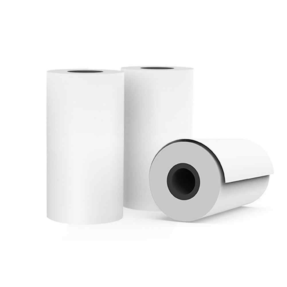 1 Roll 57*25 Mm Panas Sensitif Percetakan Kertas Thermal untuk Memobird GT1 Pergi G3 Printer