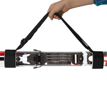 Ski Carrier / Sling Handle Fixed Belt For Double Snowboard Fast&Simple Makes Carrying Your Skis & Poles EASY