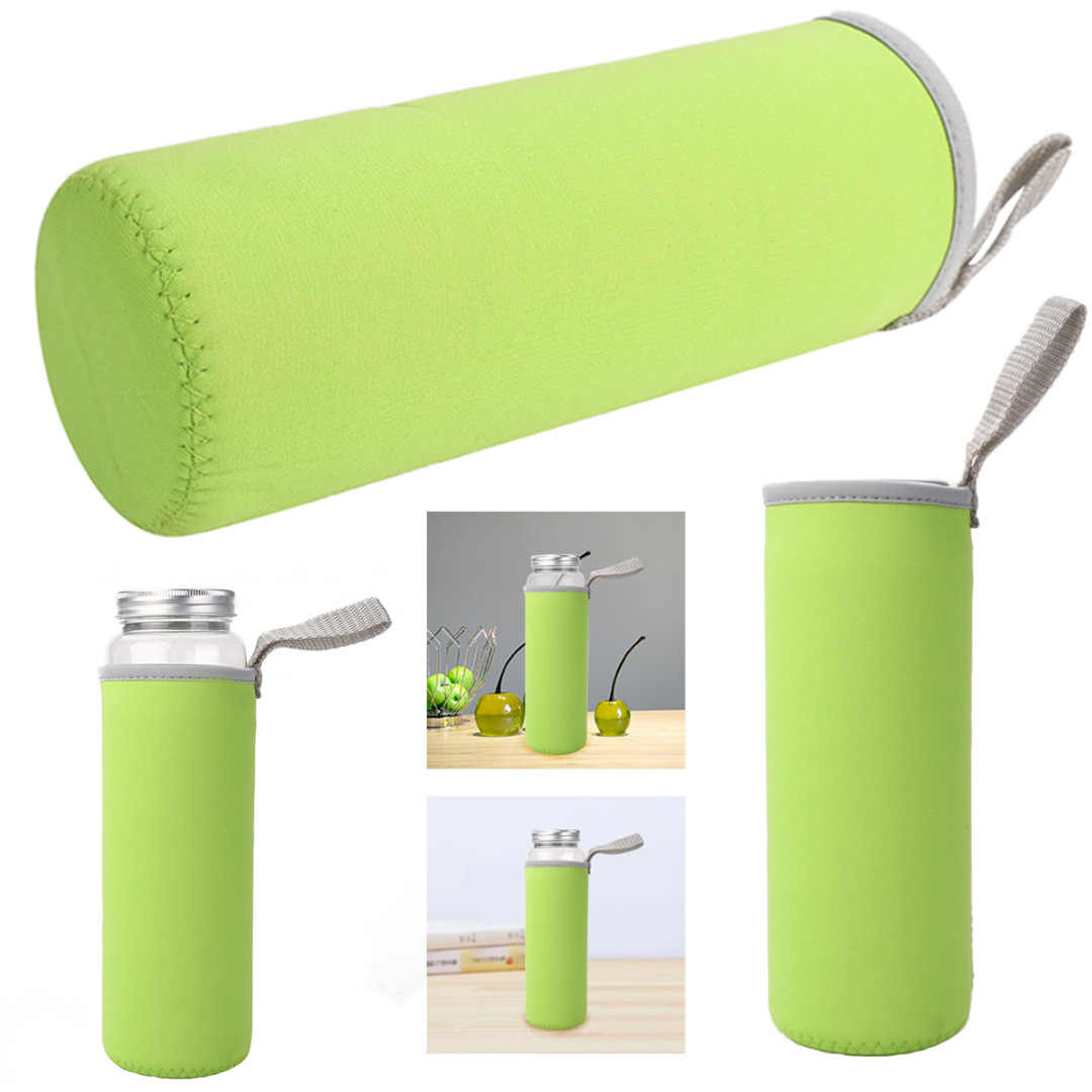 Sport water bottle cover neoprene insulated sleeve bag case pouch In PF