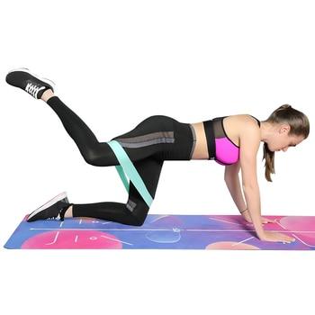 Fitness Gum Resistance Bands Set Elastic Yoga Loop Bands For Fitness Sports Fitness Gum Rubber For Training Workout Expander 5