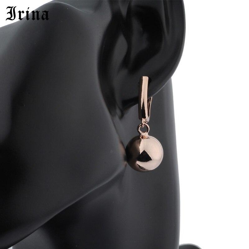 Irina Women's Earrings Ball Earrings Zircon Pendant  Fashion Jewelry Wedding Party Fine Jewelry Hot Sale earring for women