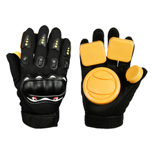 цены Skateboard Protective Gloves Standard Adult Longboard Downhill Slide Gloves Skate Gloves for Skate Skateboard Roller Skating