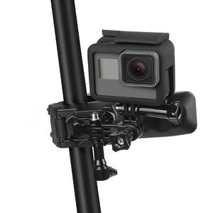 "Image 3 - ALLOET מתכווננת התאמת לסתות גמיש קלאמפ קליפ מחזיק הר עבור GoPro גיבור 7 6 5 SJCAM ש""י Xiaomi יי 4K מצלמה אבזרים"