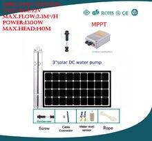 Dc72v Большой мощный 1300 Вт Солнечный водяной насос для орошения
