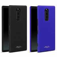 SFor Sony Xperia 1 housse de protection IMAK Cowboy en plastique dur support de téléphone coque arrière pour Sony Xperia 1