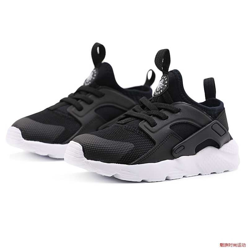 buy online 34c14 f52c4 Nike Huarache Run Ultra 2019 Original Children Running Shoes Breathable  Light Sports Kids Shoes #859594-020