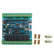 Industrial Programmable Control Board FX2N-20MR 12 Input 8 Output 24V 5A Motor Speed Controller plc programmable controller board fx2n 10mr electrical supplies industrial accessory ws2n 10mr s