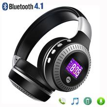 HobbyLane Foldable Headset Bluetooth 4.1 Wireless Stereo Headphone Super Bass TF Card MP3 FM Radio