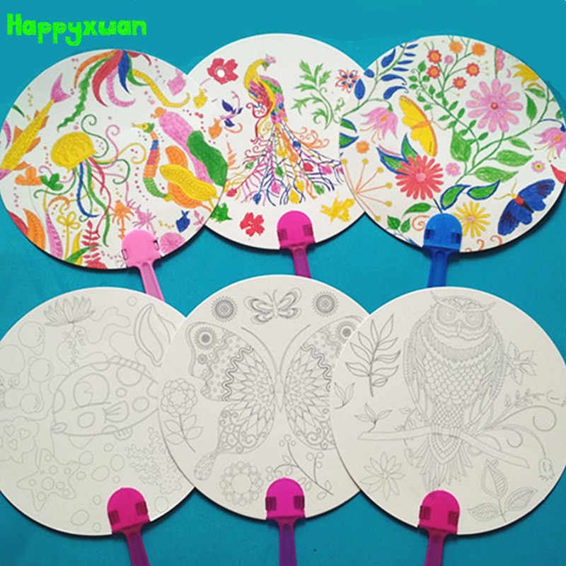 Detail Feedback Questions About Happyxuan 12pcs Diy Coloring Kids